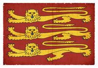 Historic Royal Banner of King Richard I (England)