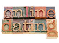 online dating in wood type