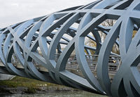 Hans-Wilsdorf-bridge, Geneva, Switzerland