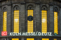 Historischer Kuppelbau, Bahnhof Köln-Deutz, Köln, Nordrhein-Westfalen, Deutschland, Europa
