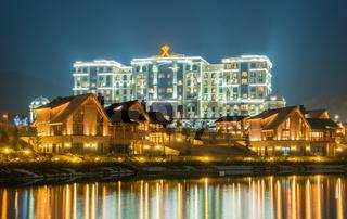 Quba - MARCH 26, 2015: Quba Rixos Hotel on March 26 in Azerbaija