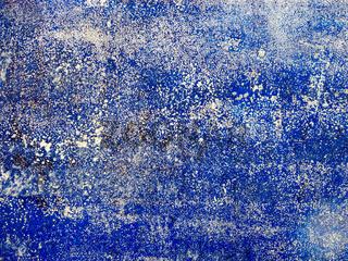 Unregelmäßiger blauer Anstrich als Hintergrund