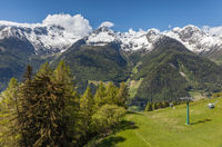 Mountain panorama in Campo Tures