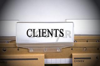 Clients Folder Register Index
