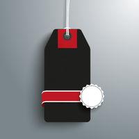 Black Friday Sale Price Sticker Emblem PiAd