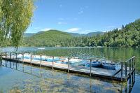 Lake Montiggler,South Tirol,Italy