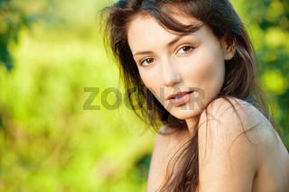 beautiful sexy brunette
