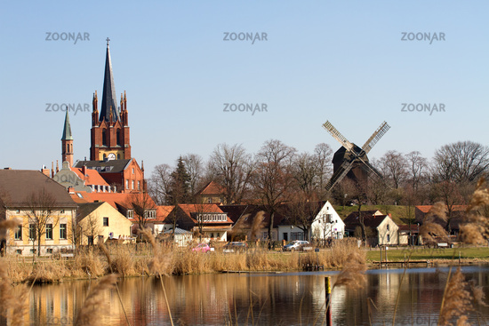 Old church 001. Werder. Germany