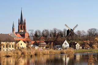 Alte Kirche 001. Werder. Deutschland