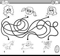 maze activity for children