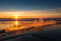 Sonne im Eis