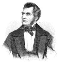 Heinrich Wilhelm August Freiherr von Gagern, 1799 - 1880, a German statesman