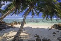 Traumstrand Anse Baleine, Mahe Ostküste, Seychellen