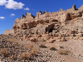 Ruinen des Ksar Meski in Marokko