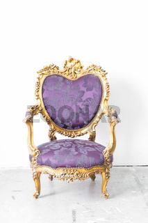 Purple Royal Chair