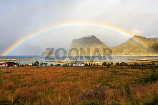 Rainbow near Vik