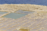 Salt Flieds on Gozo, Malta