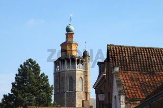 jeruzalemkerk in bruegge, belgien