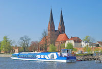 Village of Neuruppin in Brandenburg,Germany