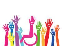 Viele Hände leben Inklusion und Integration