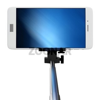 3d selfie stick with smartphone