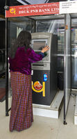 ATM of the Druk PNB Bank, Thimphu, Bhutan