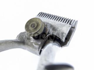 Alte Haarschneidemaschine