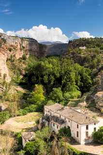 Gorge at Alhama de Granada, Andalusia, Spain