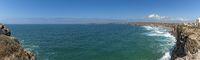 Panorama Shot Praia do Tonel, West Coast.