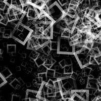 Futuristic square background design illustration