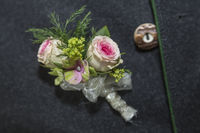 Wedding Button of Groom