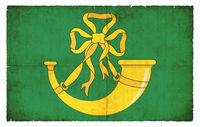 Grunge flag of Huntingdonshire (Great Britain)