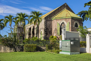 St. George's  Anglican Church Roseau Dominica West Indies