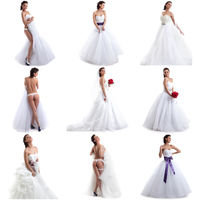Photo collection of sexy bride posing at camera