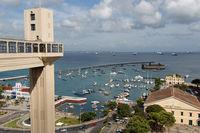 Elevador Lacerda in Salvador de Bahia