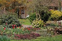 Finkenrech Garden, Dirmingen, Saarland, Germany