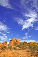 landscape at Erongo mountains, Namibia