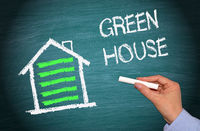 Green House with Energy Efficiency