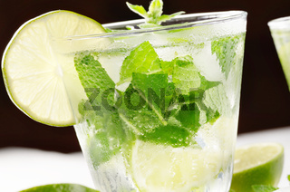 Mojito with lime