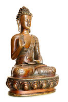 Figurine of blessing Buddha