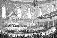 The First Free Church Assembly, Church of Scotland in Edinburgh