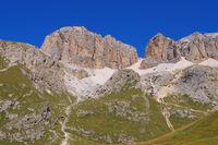 Sella Gruppe Seilbahn - Sella group in Dolomites ropeway