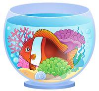 Aquarium topic image 6 - picture illustration.
