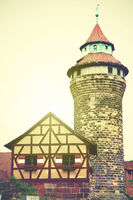 Tower in Nuremberg Castle