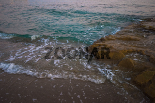 sea in the evening