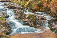 Wasserfall im Harz, Unterer Bodefall