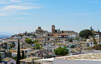 Old town district Albayzin, Granada, Spain
