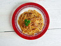 Greek Pheasant Pasta