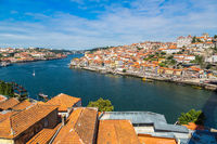 Aerial view of Porto in Portugal