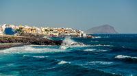 Los Abrigos, small fishing village in Granadilla de Abona, Tenerife. Canary Islands, Spain